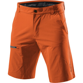 Löffler Comfort Stretch Light Short de trekking Homme, safran